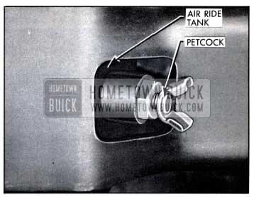 1958 Buick Air Poise Air Reservoir Tank Petcock