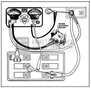 1958 Buick Battery Cable Test Connections