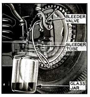1958 Buick Bleeding Front Wheel Cylinder