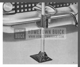 1958 Buick Bumper Jack