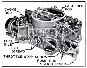 1958 Buick Carter AFB Carburetor Assembly