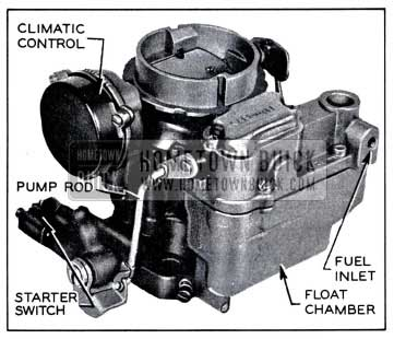 1958 Buick Carter WGD Carburetor Assembly