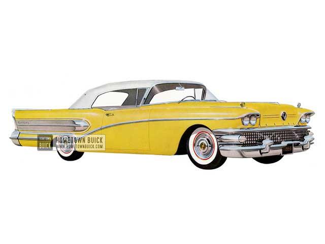 1958 Buick Century Convertible - Model 66C HB