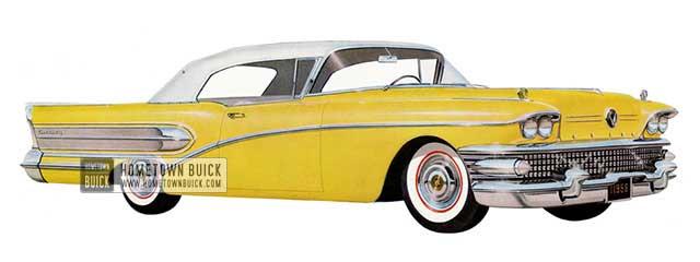 1958 Buick Century Convertible - Model 66C