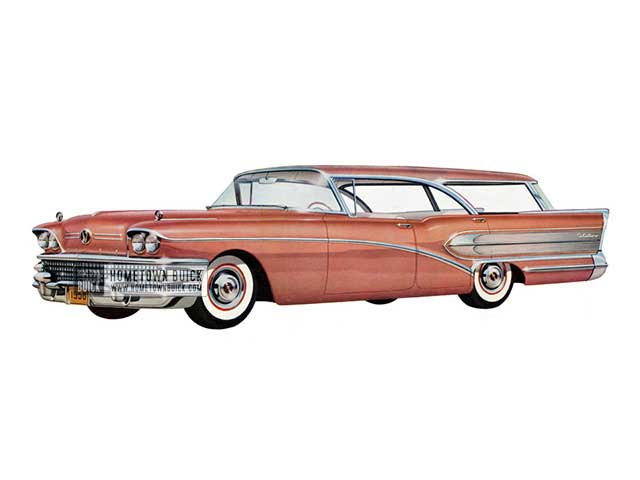 1958 Buick Century Riviera Estate Wagon - Model 69 HB