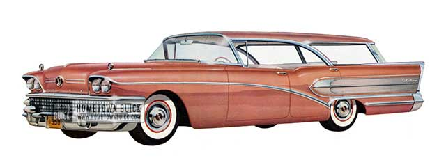 1958 Buick Century Riviera Estate Wagon - Model 69