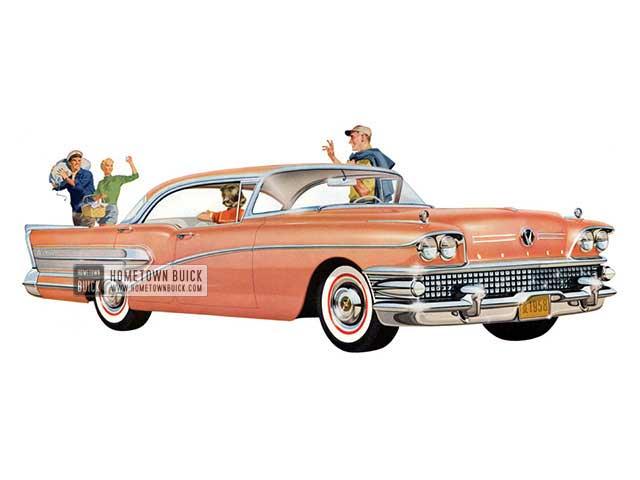 1958 Buick Century Riviera - Model 63 HB