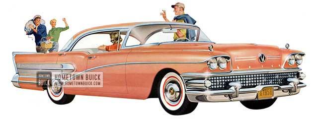 1958 Buick Century Riviera - Model 63