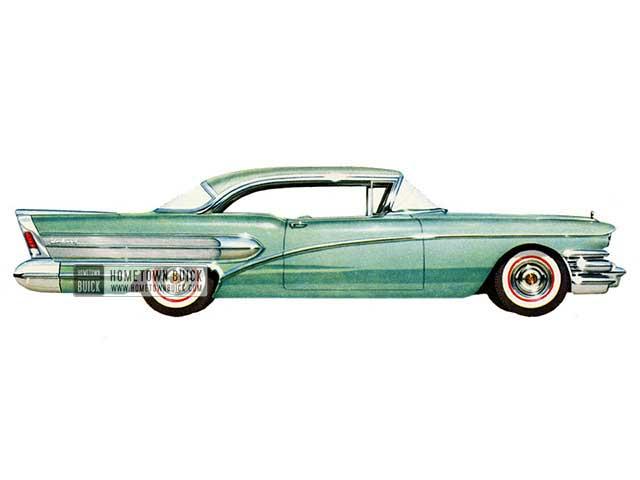 1958 Buick Century Riviera - Model 66R HB