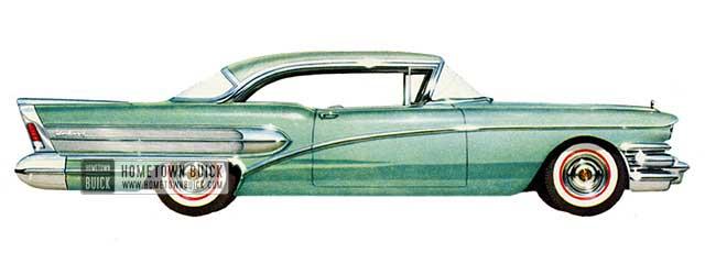 1958 Buick Century Riviera - Model 66R