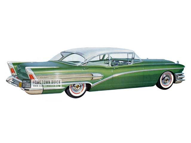 1958 Buick Century Sedan - Model 61 HB