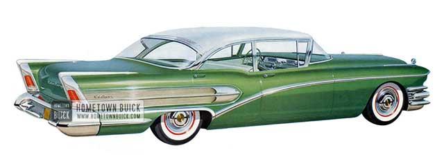 1958 Buick Century Sedan - Model 61