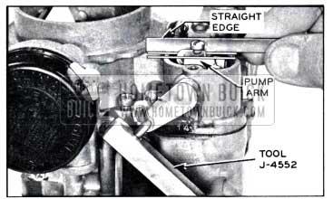 1958 Buick Checking and Adjusting Pump