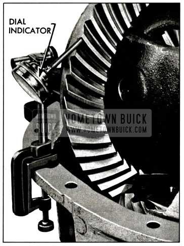 1958 Buick Checking Backlash with Dial Indicator