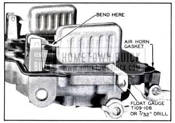 1958 Buick Checking Carburetor Float Level