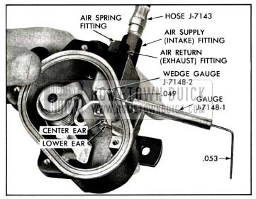 1958 Buick Checking Intake Valve