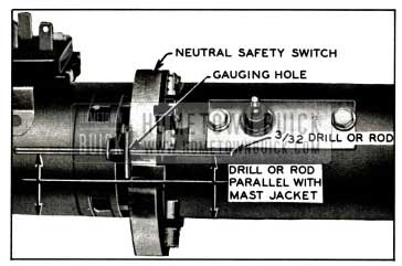 1958 Buick Checking Neutral Safety Switch Timing