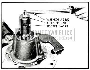 1958 Buick Checking Pinion Bearing Pre-Load