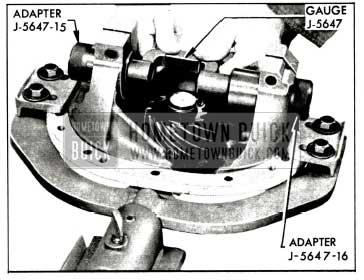 1958 Buick Checking Pinion Setting