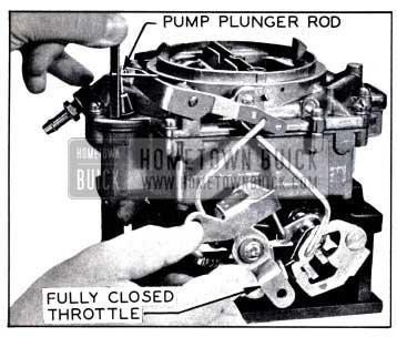 1958 Buick Checking Pump Plunger Adjustment