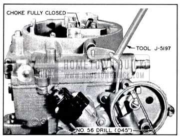 1958 Buick Choke Piston Adjustment