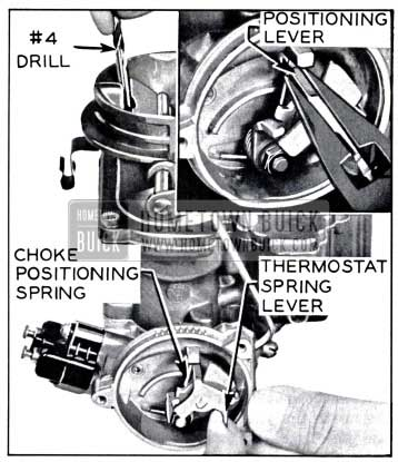 1958 Buick Choke Positioning Lever Adjustment