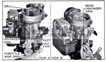 1958 Buick Choke Unloader Adjustment