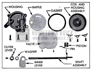 1958 Buick Climatic Control-Disassembled