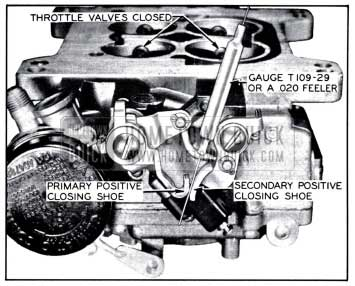 1958 Buick Closing Shoe Adjustment