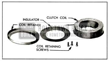 1958 Buick Clutch Coil Disassembled