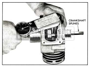 1958 Buick Compressor-Install Rod Caps