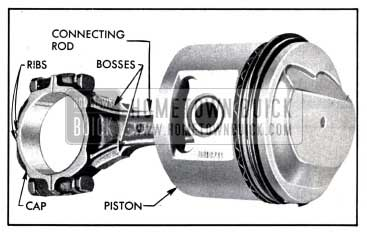 1958 Buick Connecting Rod and Piston Assembly