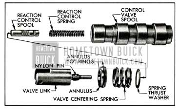 1958 Buick Control Valve Spool Assembly