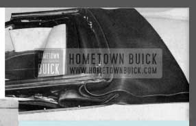 1958 Buick Convertible Top Cover