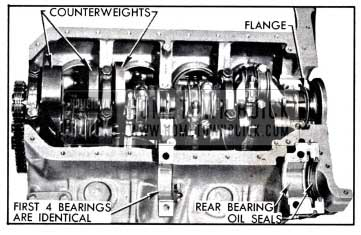 1958 Buick Crankshaft and Bearings