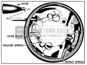 1958 Buick Direction Signal Actuator