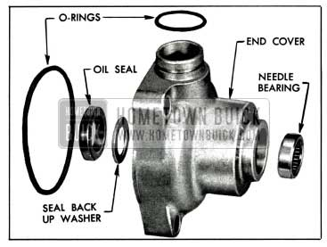 1958 Buick End Cover Bearing and Seal Assembly