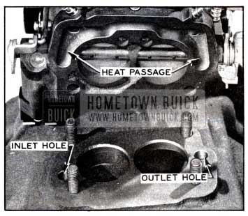 1958 Buick Exhaust Heat Passage