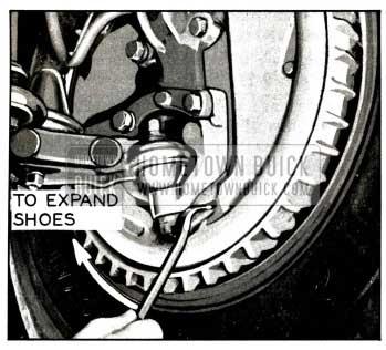 1958 Buick Expanding Brake Shoes