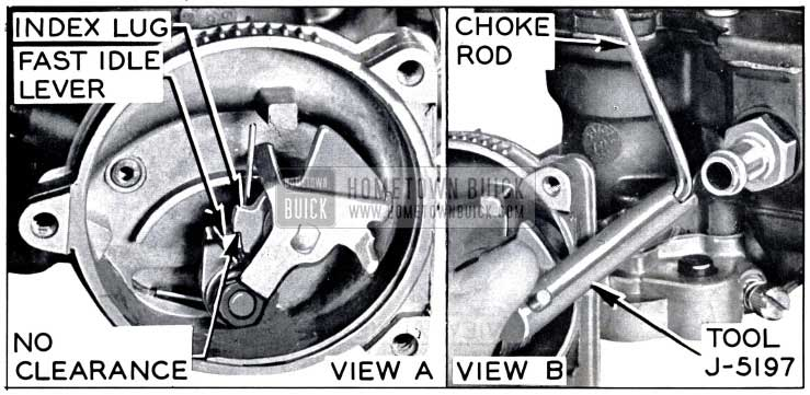 1958 Buick Fast Idle Cam Adjustment