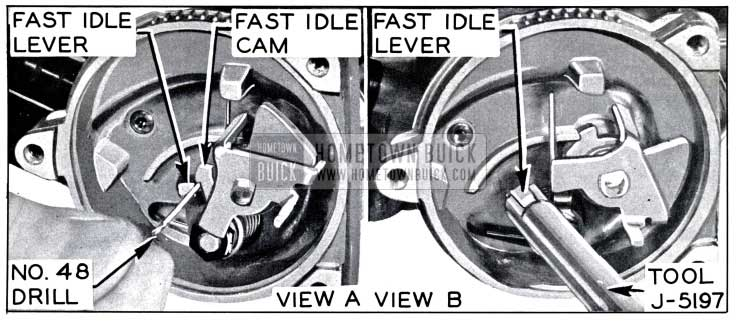 1958 Buick Fast Idle Speed Adjustment