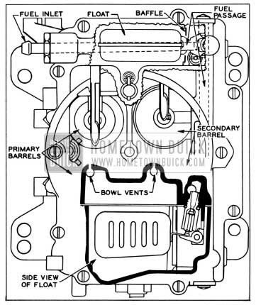 1958 Buick Carter 4 Barrel Carburetor