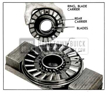 1958 Buick Front of Stator Assembly