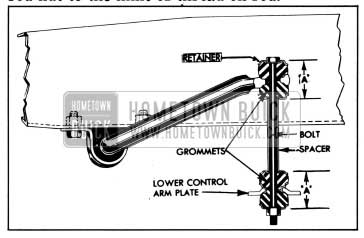 1958 Buick Front Stabilizer Link-Sectional View