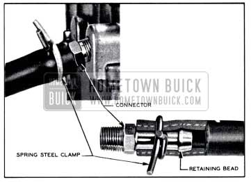 1958 Buick Fuel Lines and Clamps