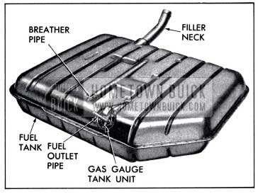 1958 Buick Fuel Tank