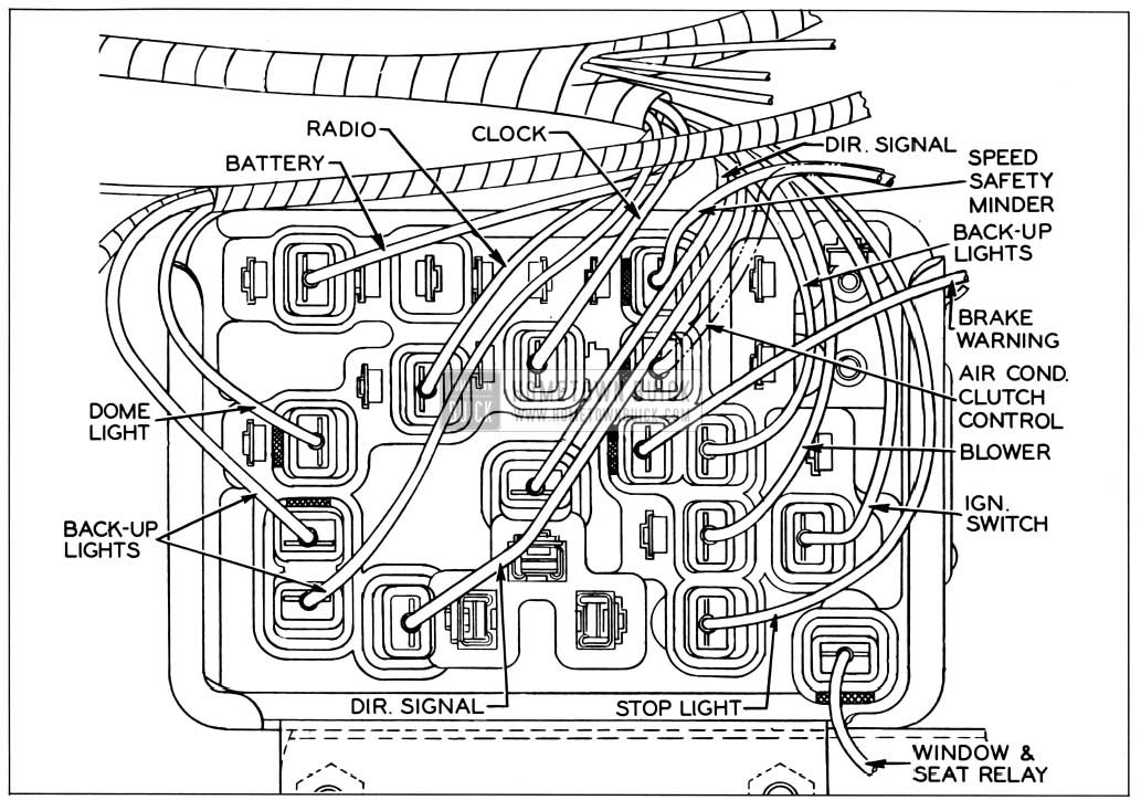 1958 buick wiring diagrams