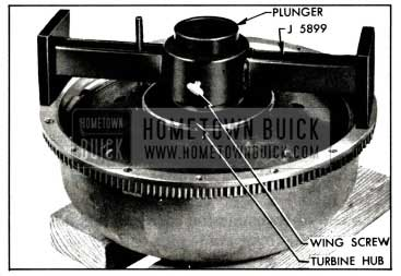 1958 Buick Gauge J 51199 on Pump and Turbine