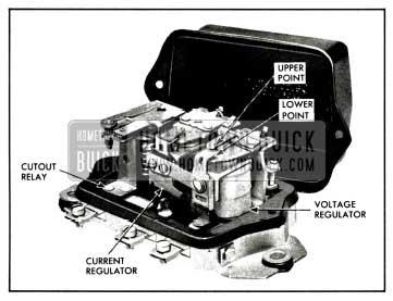 1958 Buick Generator Regulator