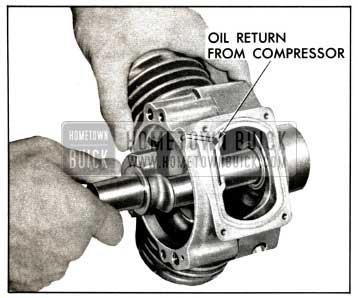 1958 Buick Install Crankshaft